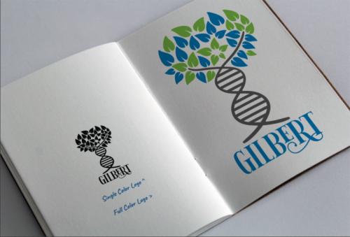 Gilbert Logo for FamilyTreeDNA Website