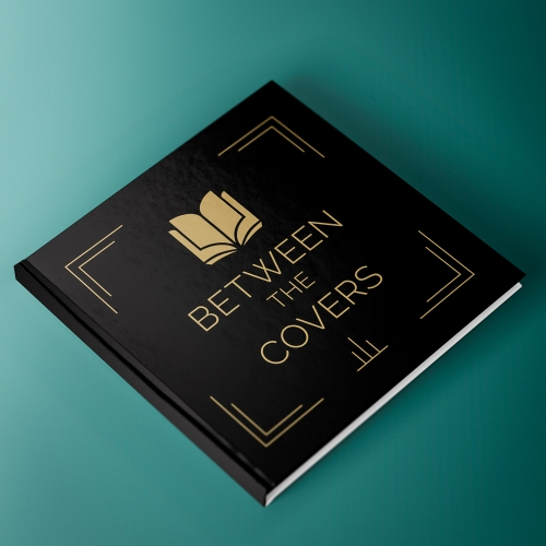 Art Deco Style Logo for Between the Covers Book Club